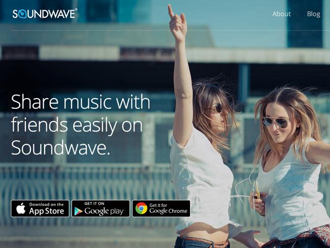 Soundwave iPhone-app