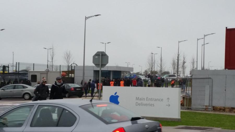 Apple-ontruiming-ierland