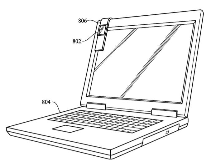 Magnetisch bandje voor de Apple Watch bevestig je aan een MacBook volgens nieuw patent.