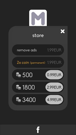 Merged: munten kopen is niet nodig
