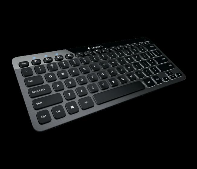 Logitech K810 Illuminated toetsenbord.