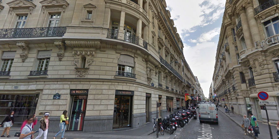 Toekomstige Apple Store Parijs aan de Champs-Elysees