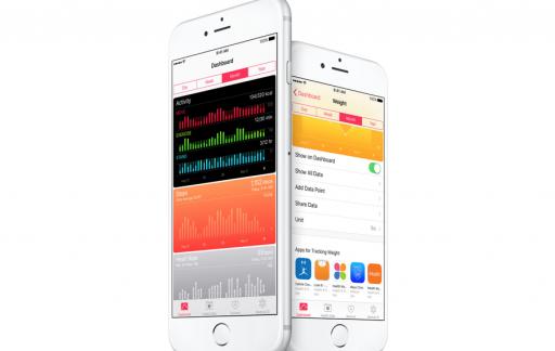Vernieuwde Gezondheid-app van iOS 9.3.