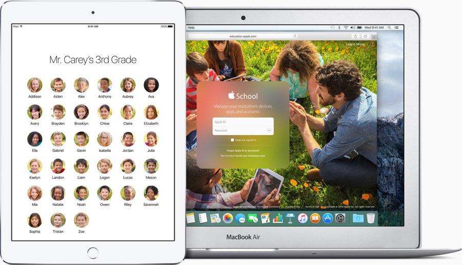 Apple ID op scholen