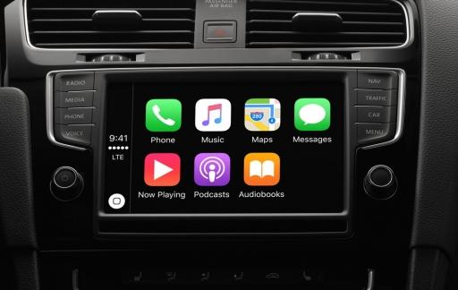 CarPlay in iOS 9.3 met nieuwe functie voor Muziek en Kaarten.