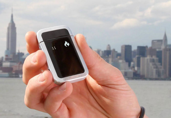 Quitbit Smart Cigarette Lighter: aansteker gaat je helpen bij stoppen met roken