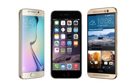Android-toestellen en iPhone