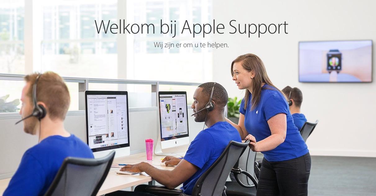 Apple Support met tips.