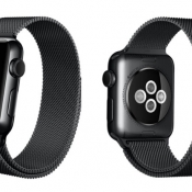 Apple Watch met zwart Milanees bandje gespot in Apple Store