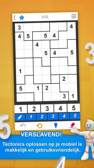 Tectonic is een Sudoku-achtig spelletje voor de iPhone.