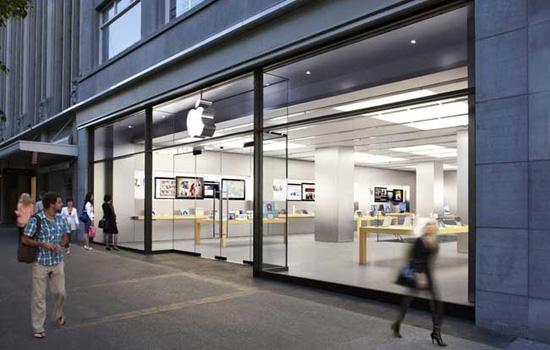 Apple Store voorbeeld