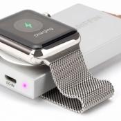 Met deze sleutelhanger laad je je Apple Watch vier keer op