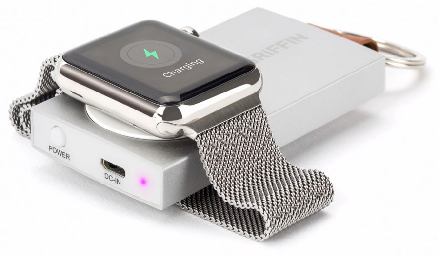 Griffin reservebatterij voor Apple Watch