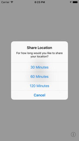 LoKey plaatst een knop voor het delen van je locatie in je toetsenbord.