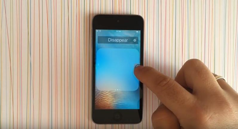 Standaard apps verbergen dankzij een bug in iOS 9.