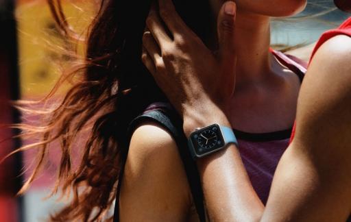 Apple Watch met sportieve mensen
