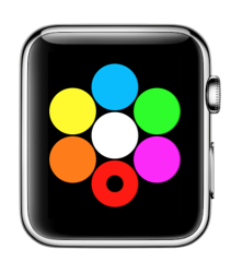 Kleuren selecteren in Digital Touch.