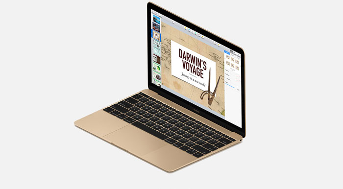 MacBook goudkleur