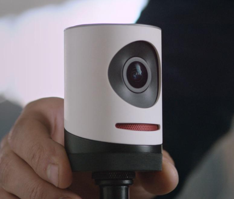 Livestream Movi-cam met standaard.