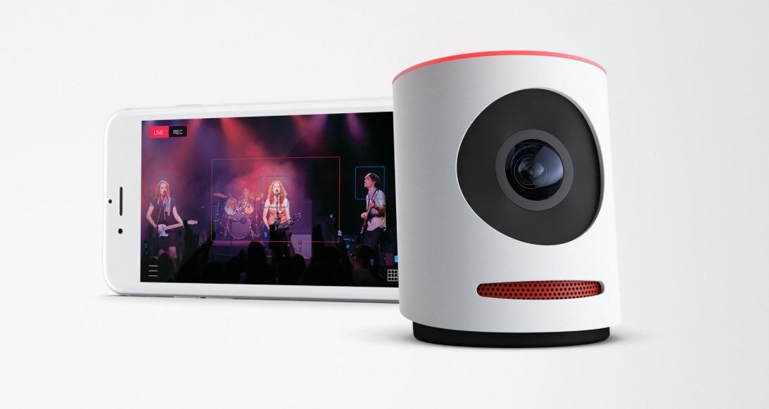 Livestream Movi-camera met iOS-app.