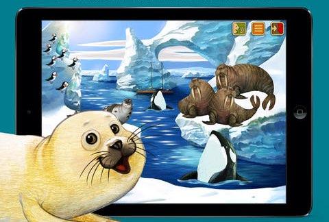 Noordpool dieren-app