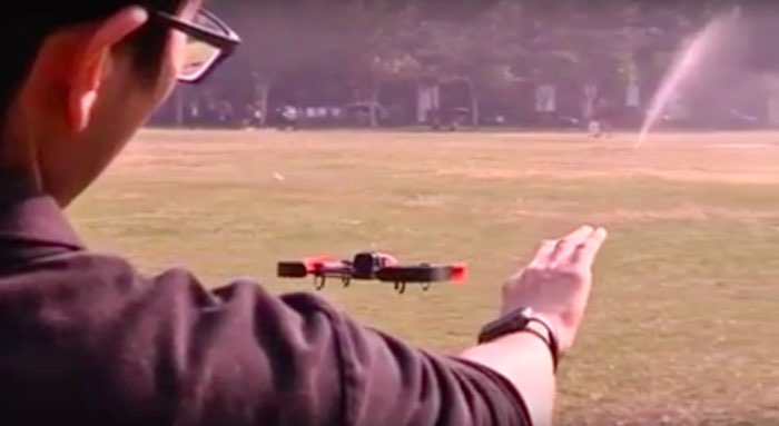 Drone besturen met Apple Watch