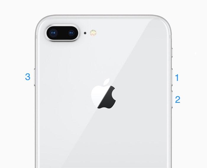 iPhone 8 resetten.