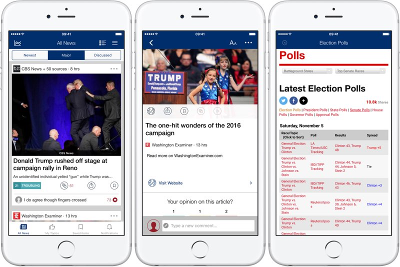 US Elections app