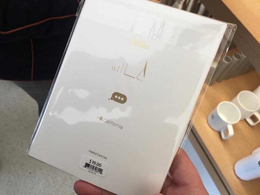 Stuur je vrienden of familieleden een leuk kaartje van Apple.