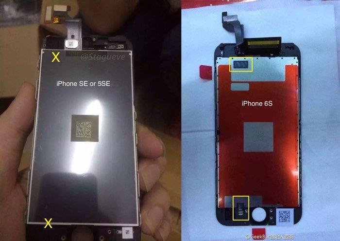 iPhone SE versus iPhone 6s