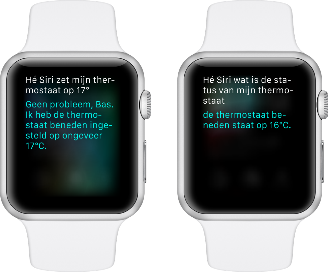 Siri Apple Watch