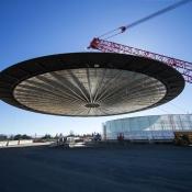 Apple Park, het nieuwe 'ruimteschip' hoofdkantoor van Apple