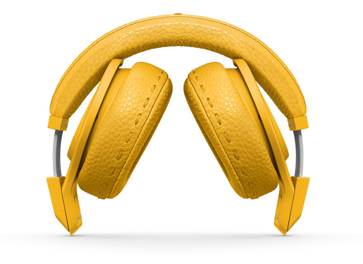 Beats Fendi in geel