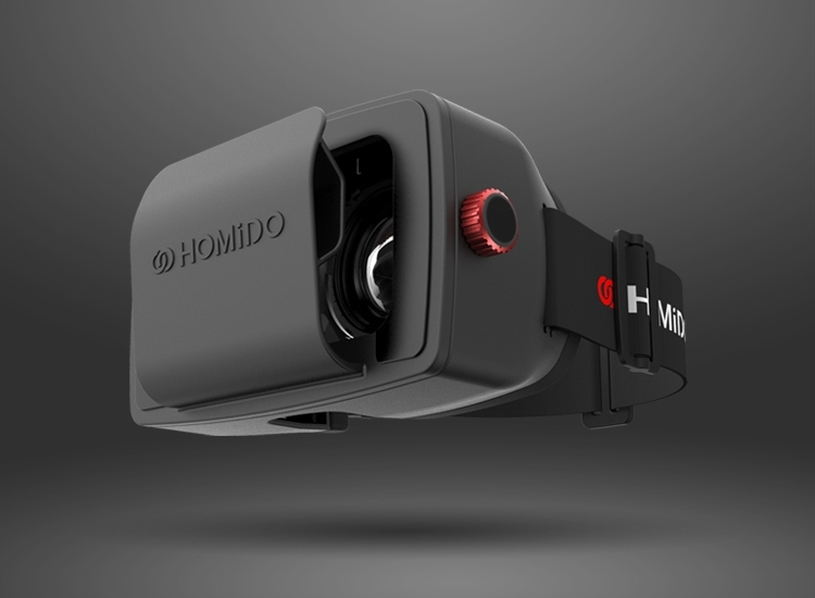Homido VR-headset voor je iPhone.