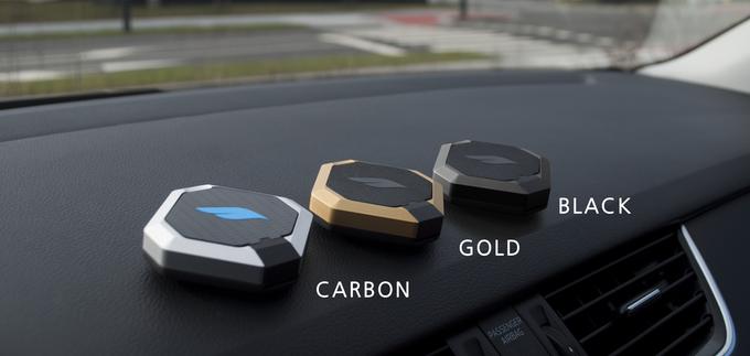 Autohouder Bluejay voor je iPhone in verschillende kleuren.