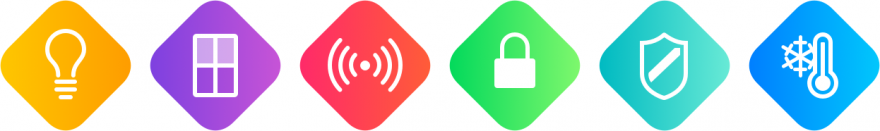 HomeKit iconen