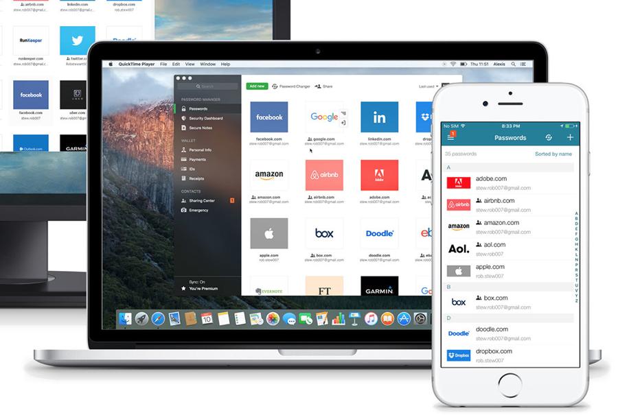 Dashlane is een populaire wachtwoordenapp op de iPhone en Mac.