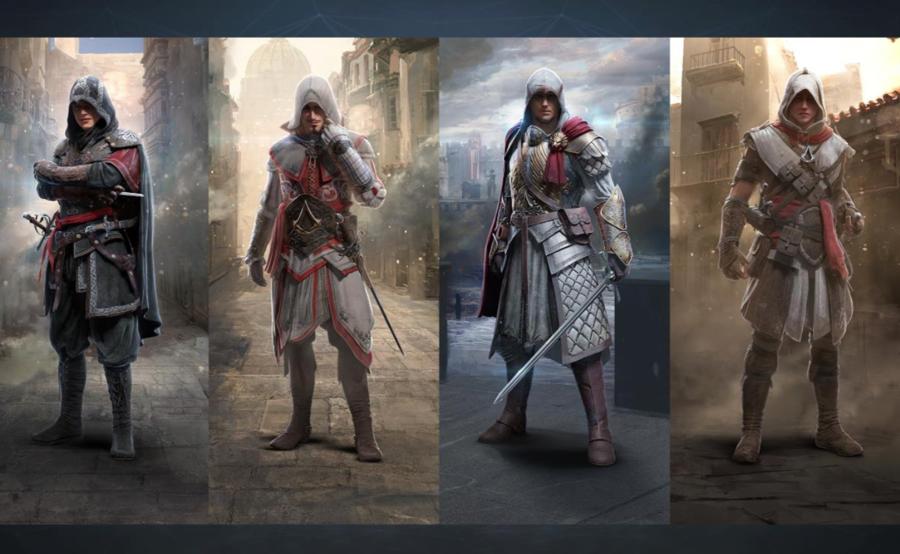 Kies uit vier verschillende klassen in AC Identity.