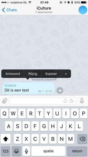 telegram-kanaal-bericht-bewerken