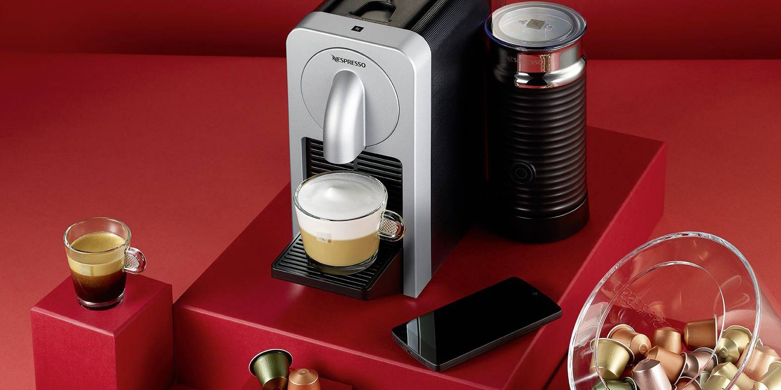 Nespresso Prodigio met iPhone-app