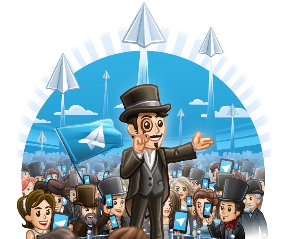 Telegram viert de mijlpaal van 100 miljoen maandelijkse actieve gebruikers.