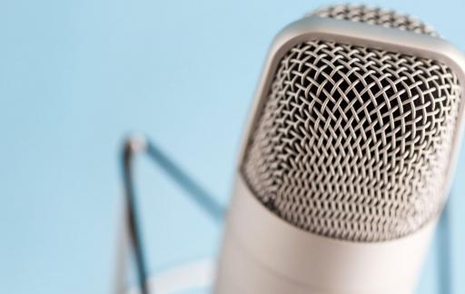 Podcast-microfoon