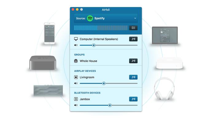 AIrfoil 5 voegt naast AirPlay ook Bluetooth-ondersteuning toe.