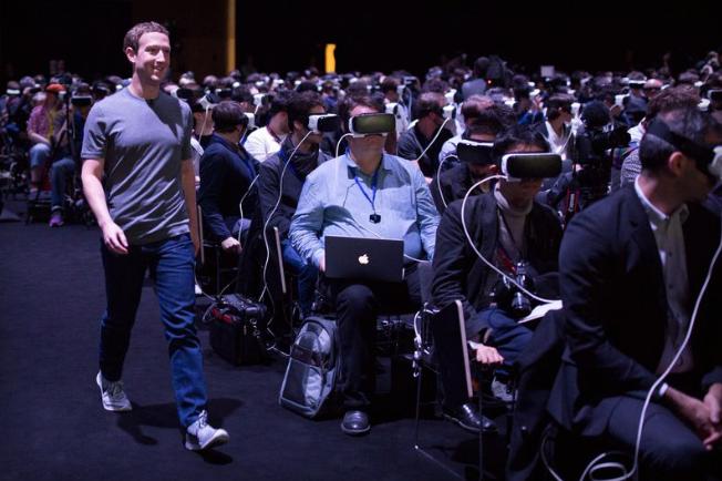 Mark Zuckerberg denkt dat VR de toekomst is van Facebook.