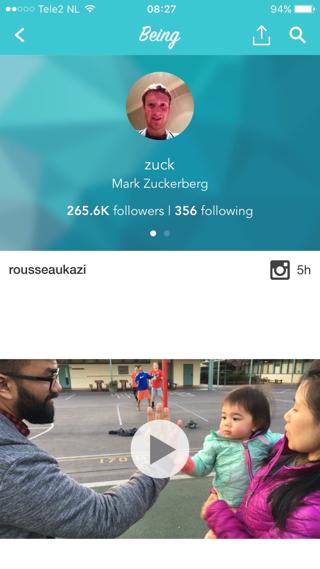 Welke mensen volgt Mark Zuckerberg op Instagram?