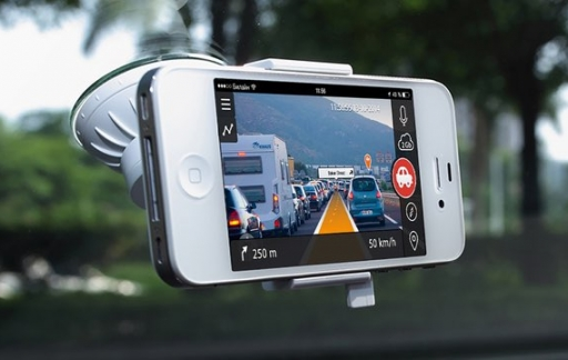 iPhone-dashcam in de auto
