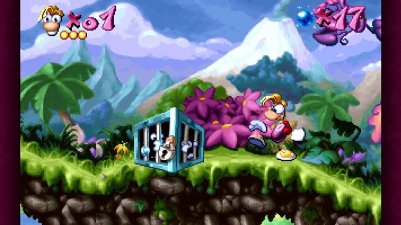 Rayman Classic met het openslaan van een kluis.