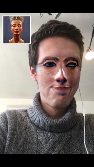 Geef je gezicht een make-over met Face Stealer.