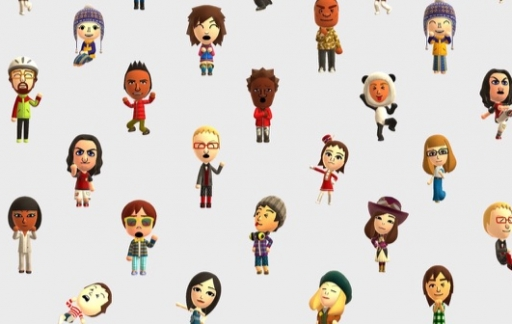 Mii-personages in Miitomo.