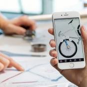 Apple: design met Autodesk en tekening, zakelijke toepassingen